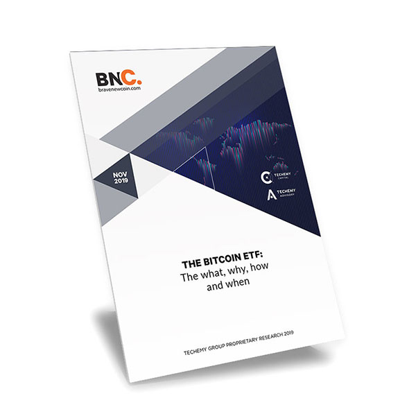 The Bitcoin ETF Report Cover